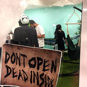 Dont open dead inside Halloween 2019 Adiona