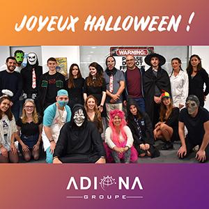 Photo de groupe Halloween 2019 Adiona